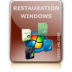 installation et restauration windows ordinateur portable PC